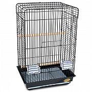 """Клетка для птиц """"Triol"""" с раскрывающейся крышей (эмаль), 52x41x78 см"""