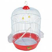 "Клетка для птиц ""Triol"" круглая (золото), 33,5x53 см"