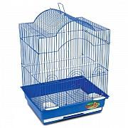 """Клетка для птиц """"Triol"""" с фигурной крышей (эмаль), 35x28x46 см"""