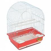 """Клетка для птиц """"Triol"""" с полукруглой крышей (эмаль), 30x23x39 см"""