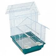 """Клетка для птиц """"Triol"""" с двойной крышей (эмаль), 34,5x28x50 см"""
