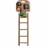 """Игрушка для птиц """"Лесенка"""" (5 ступеней), 24х6,5 см"""