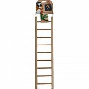 """Игрушка для птиц """"Лесенка"""" (9 ступеней), 39х9,5 см"""