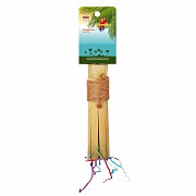 Жердочка бамбуковая для птиц, 22,8х3,8 см